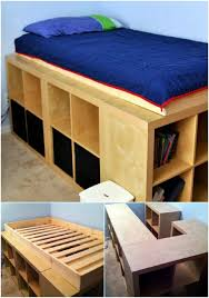Cheap Bed Frame With Storage 21 Diy Bed Frame Projects Sleep In Style And Comfort Diy Crafts