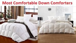 most comfortable bedding top 10 most comfortable down comforters in 2018