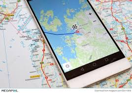 navigation map gps navigation map smartphone stock photo 53011999 megapixl