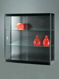 Wall Display Cabinet With Glass Doors Glass Wall Cabinet Wall Units Marvellous Glass Wall Units Wall