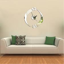 3d modern frameless wall clock crystal mirror sticker hours diy 3d modern frameless wall clock crystal mirror sticker