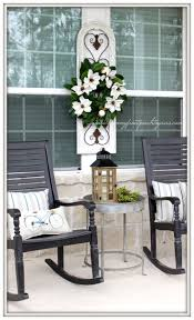 outdoor white front porch furniture white resin porch rockers