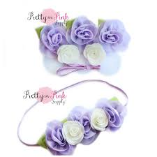 how to make baby flower headbands lavender baby flower crown diy headband kit 94 baby headband