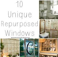 Upcycling Old Windows - 10 ways to repurpose old windows u2014 totally green crafts