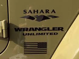 jeep wrangler sahara logo product jeep mountain usa flag sahara wrangler unlimited cj tj yk