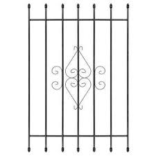 Basement Window Security Bars by Security Bars Windows The Home Depot
