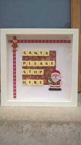 christmas frames scrabble frames personalised frames home decor