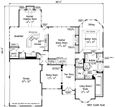 House Plans With Keeping Rooms Benedict House Floor Plan Frank Betz Associates