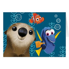 finding dory of characters card zazzle