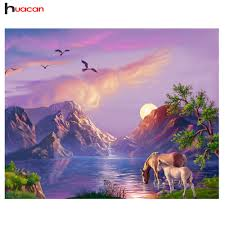 Mountain Landscape Paintings by Mountain Landscape Paintings Reviews Online Shopping Mountain