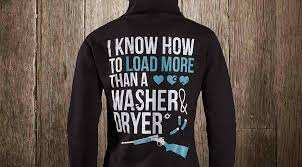 hoodie i know how to load more than a washer and dryer cute n