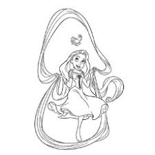 20 Beautiful Rapunzel Coloring Pages For Your Little Girl Coloring Pages Tangled