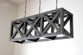 Wood Light Fixture Industrial Pendant Light Create Celebrate