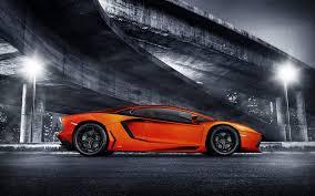 Orange Car Wallpaper 1920x1200 60802