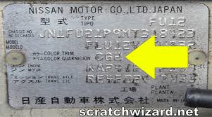 2015 nissan altima touch up paint scratchwizard