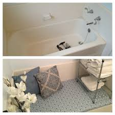 convert unused bathtub into storage and seating area what an