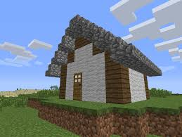 Building A Small House by A Cosy Compact House Tutorial Survival Mode Minecraft Java