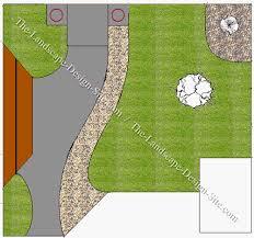 backyard plan small square backyard plan