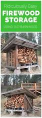 Free Firewood Storage Rack Plans by Step By Step How To Build This Firewood Shelter This Firewood