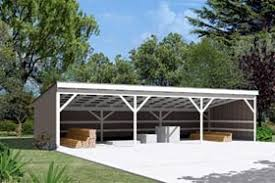 How To Build A Pole Shed Plans by Project Plan 85946 Pole Building Open Shed