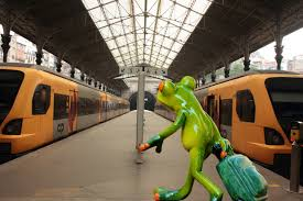 go away green free images sweet animal cute train travel trolley vehicle
