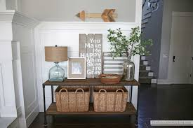 West Elm Console Table by First Day And A Console Table Update The Sunny Side Up Blog