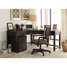 Dining Room Desk by 3 Drawer Curved Corner Desk By Riverside Furniture Wolf And