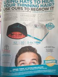 capillus laser hats truth in advertising