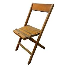 wooden folding chairs at 1stdibs