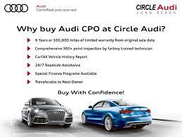 audi cpo lease circle audi audi dealership in ca 90815