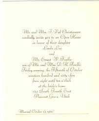 sles of wedding programs reception invitation wording after wedding simple wedding
