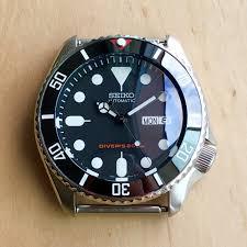 vintage black ceramic insert 007 sub vintage black dlwwatches