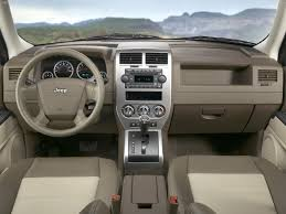 jeep crossover interior jeep patriot 2007 picture 8 of 20
