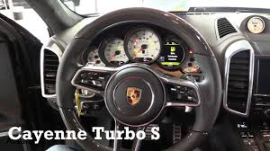 porsche cayenne turbo 2017 porsche cayenne turbo s interior review