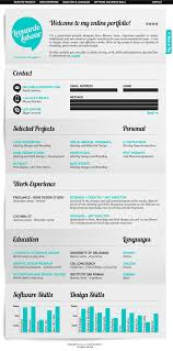 Sample Web Designer Resume by 50 Awesome Resume Designs That Will Bag The Job Hongkiat