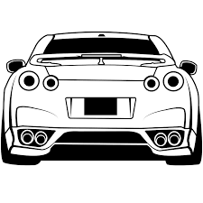 wall decal skyline wall decal thousands pictures of wall nissan gtr rear wall decal