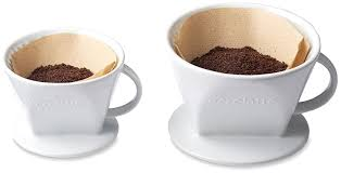 amazon com aerolatte pour over coffee dripper reusable filter