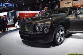 bentley mulsanne 2014 bentley mulsanne speed 2014 paris motor show 11 muscle cars zone