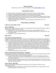 Application Support Analyst Sample Resume by Cover Letter Desktop Support Analyst Resume Desktop Support