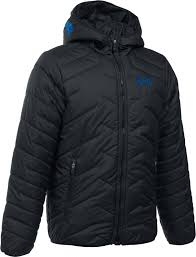 under armour boys coldgear reactor hooded jacket dick s
