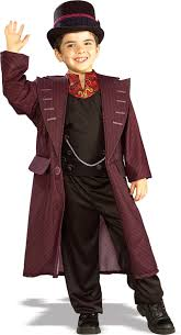 kids officially licensed willy wonka costume boy u0027s world book