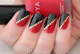 dual color nails art for magical manicure womenitems com