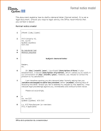 Legal Demand Letter Sample by 7 Formal Document Example Financial Statement Form