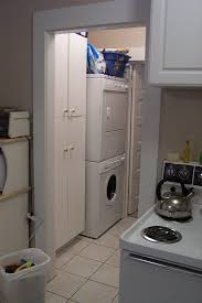 laundry in kitchen ideas furniture recommended stackable washer and dryer for smart