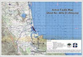 Fault Line Map Philippine Fault Zone Index Map Leyte