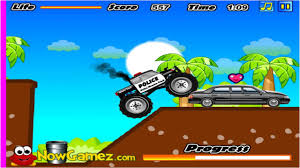monster truck video games free cool math games for kids police monster truck gameplay youtube