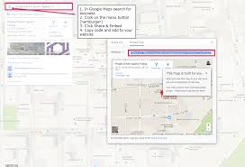 Google Maps Embed Website Optimization Basics For Local Seo Whitespark