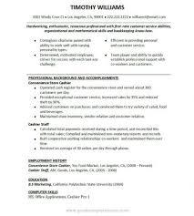 Food And Beverage Resume Template Resume Examples For Fast Food Resume Example And Free Resume Maker