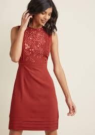 sheath dress embroidered bodice sheath dress modcloth