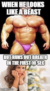 Female Bodybuilder Meme - do your cardio imgflip